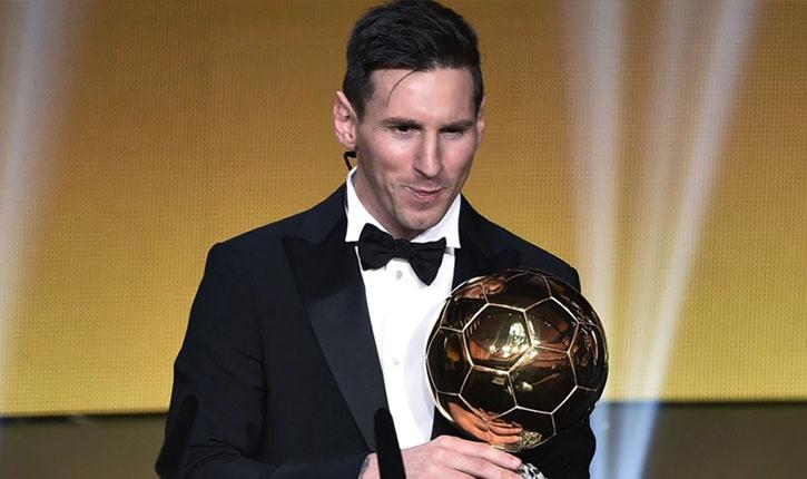 Lionel Messi câștigător balonul de aur 2015 2016