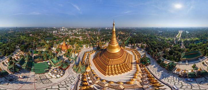 Shwedagon Pagoda banner