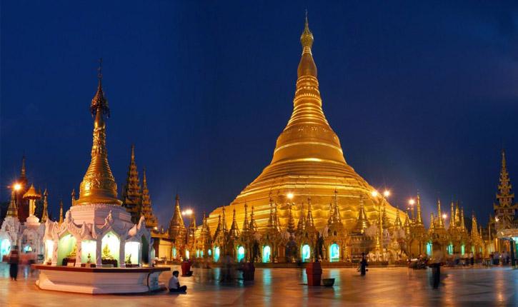 Shwedagon templu