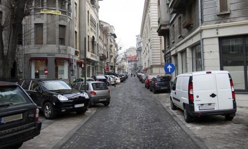 parcarea pe trotuare