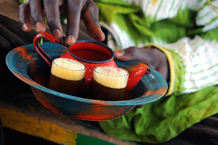ceremonie ceai africa