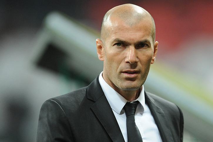 zidane antrenorul madrid