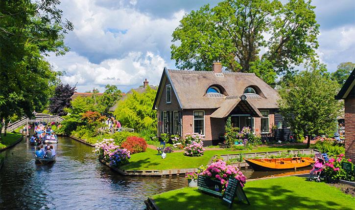 Giethoorn olanda subversiv