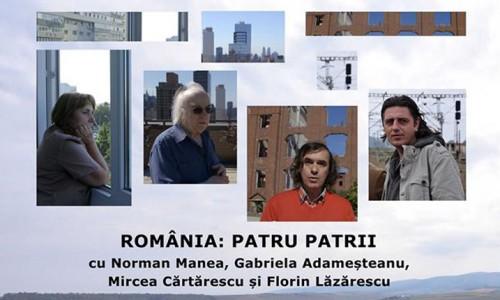 ROMÂNIA PATRU PATRII