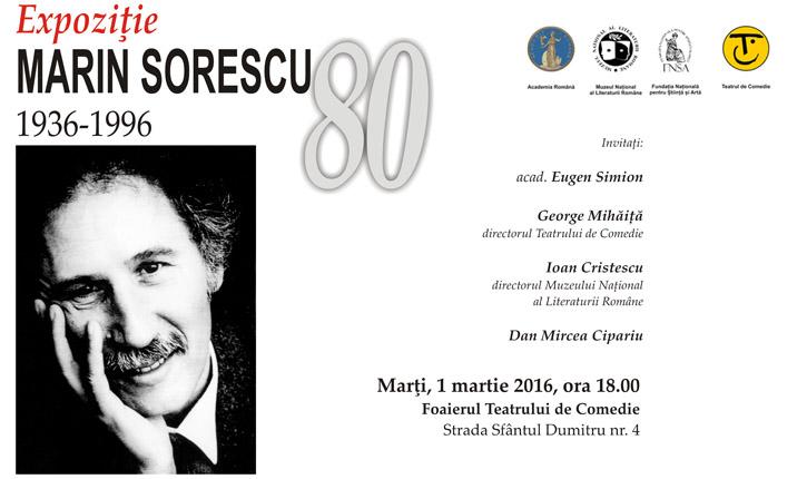 Expoziție marin sorescu