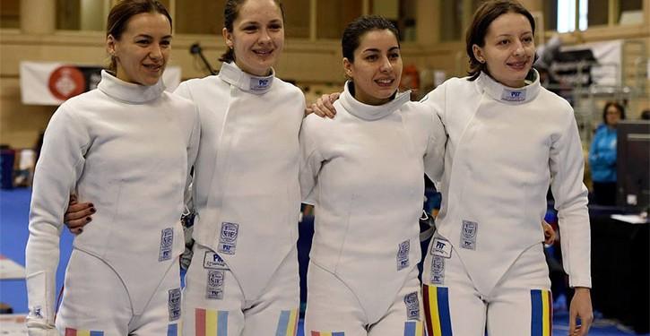 sport spadă echipa feminină românia