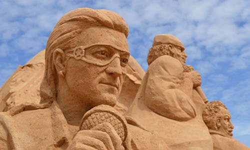 fiesa sculpturi nisip 2