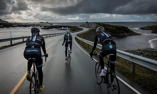 șosele străzi norvegia biciclete 3