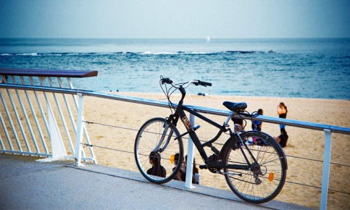 bicicleta la mare