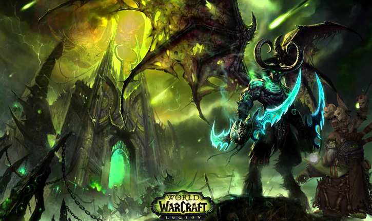 wow world of warcraft legion