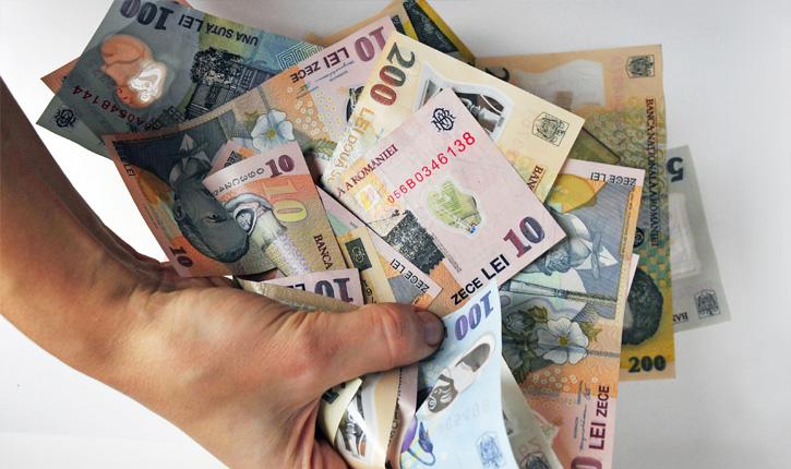 bani lei bancnote (2)