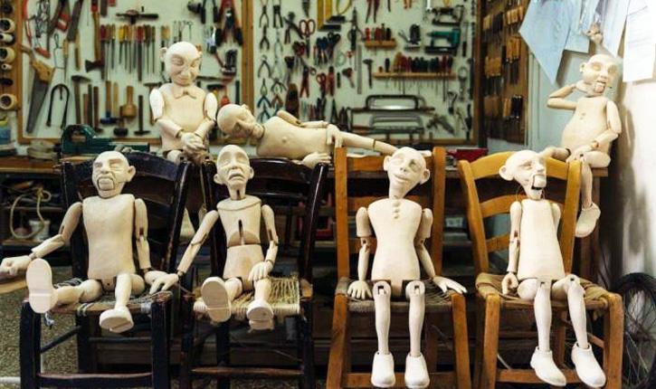 marionete SELFIE AUTOMATON