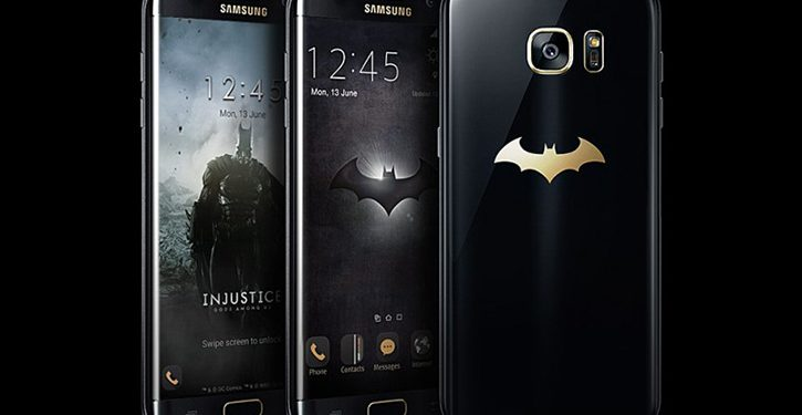 Galaxy S7 Edge Injustice Edition batman