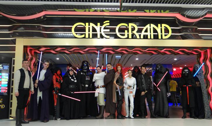 star wars Cine Grand