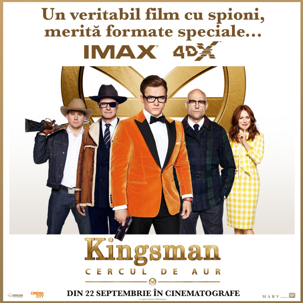 Kingsman The Golden Circle_ IMAX 4DX Poster