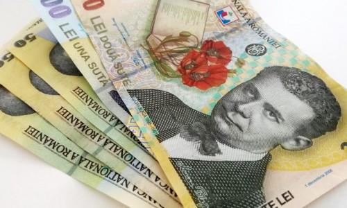 lei bani bancnote